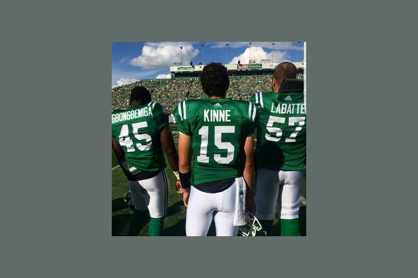 'I've had this game circled for a while:' Kinne excited for first game action with Riders