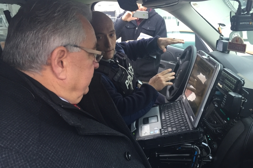 Police cars in the province receive new licence plate reader technology