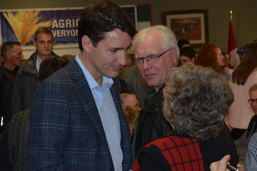 Prime Minister Trudeau in Saskatoon Thursday and Friday