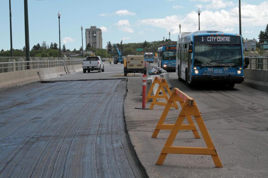 Saskatoon University Bridge could open in 1-2 weeks