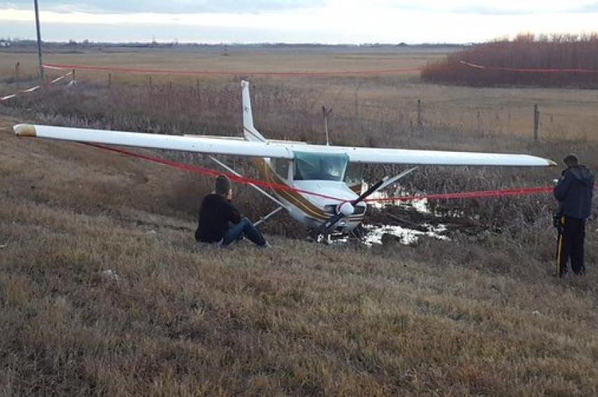 Plane makes emergency landing near Martensville