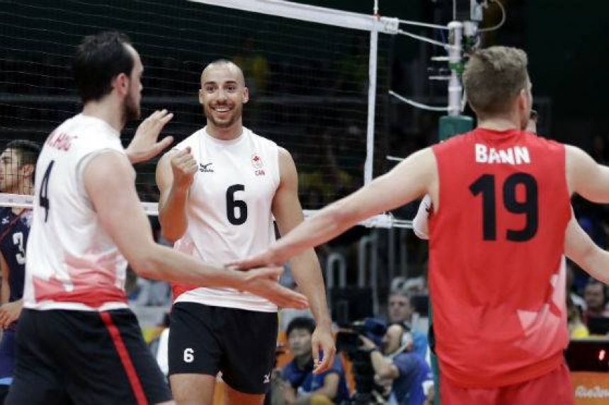Roundup: Canada stuns U.S. in men's volleyball after 12-year absence from Olympics