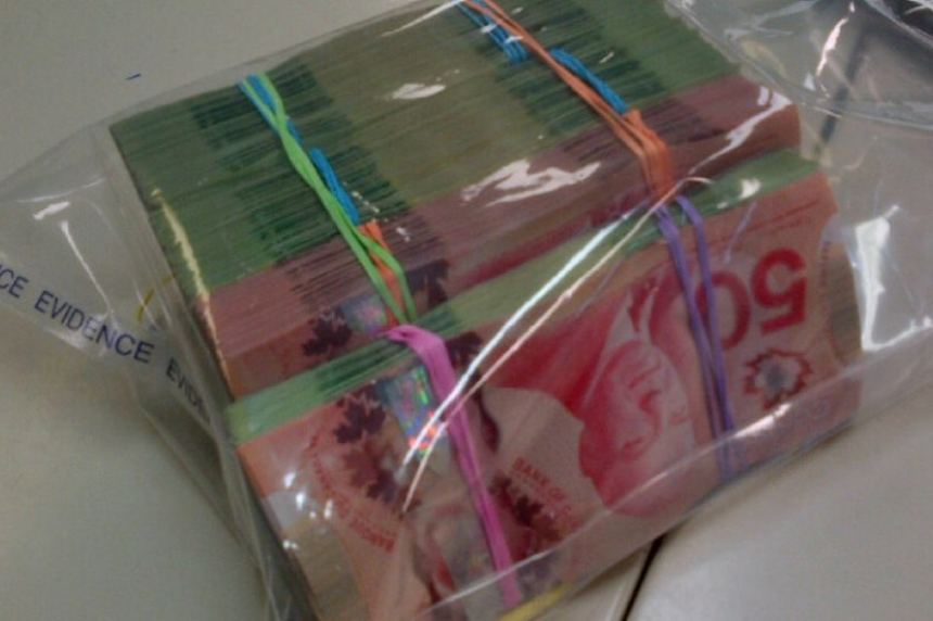 RCMP find cache of cash