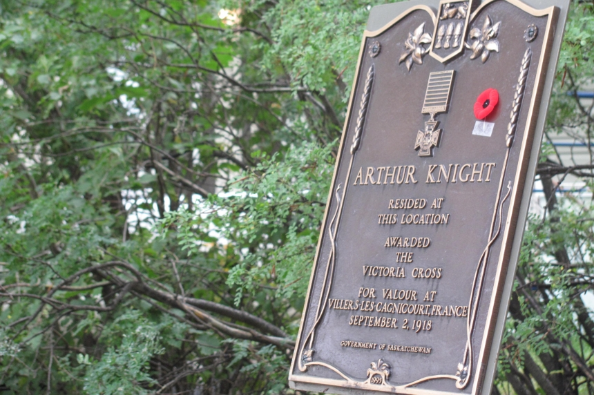 Regina Victoria Cross recipient remembered