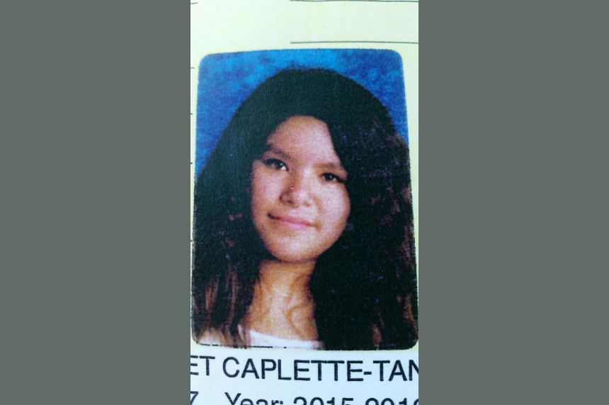 Missing 12-year-old Regina girl Margaret Caplette-Tanner found