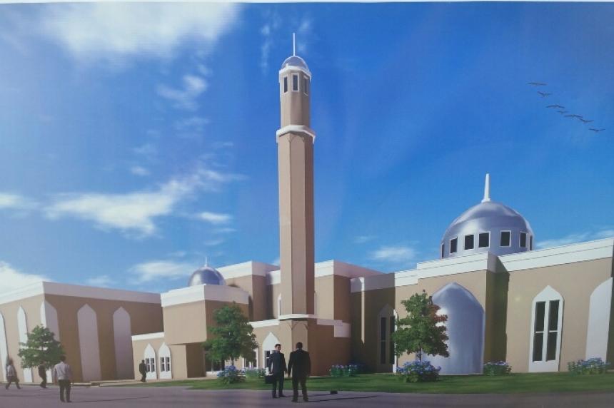 Biggest mosque on the Prairies taking shape in Saskatoon