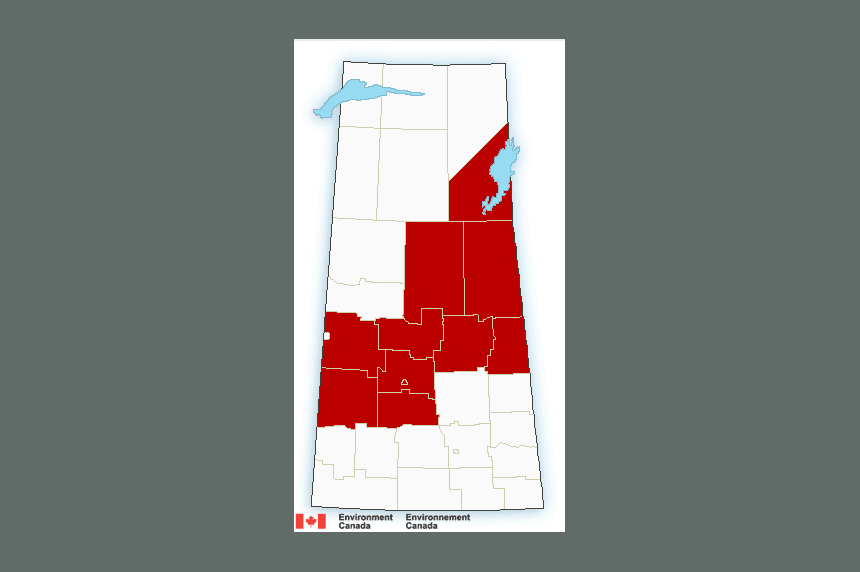 Snowfall warnings continue across Sask.