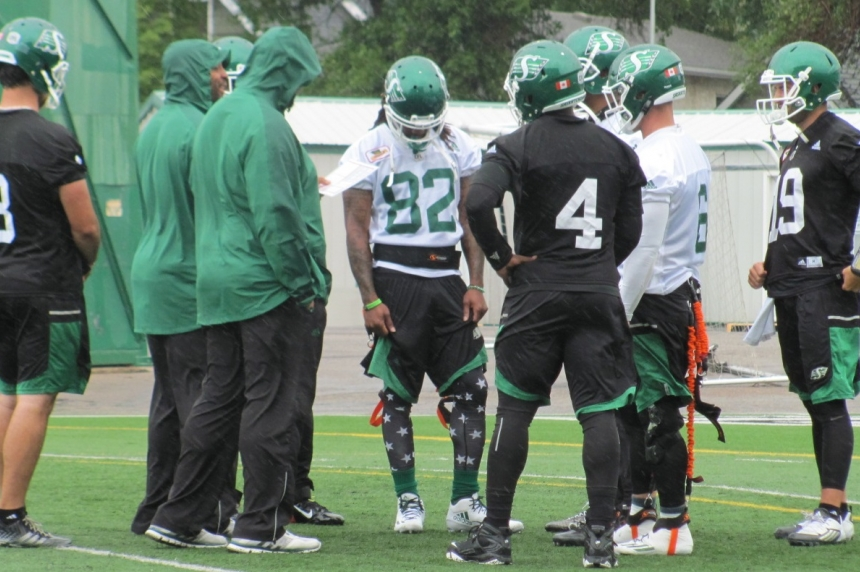 Roughriders offence making strides despite 0-2 record
