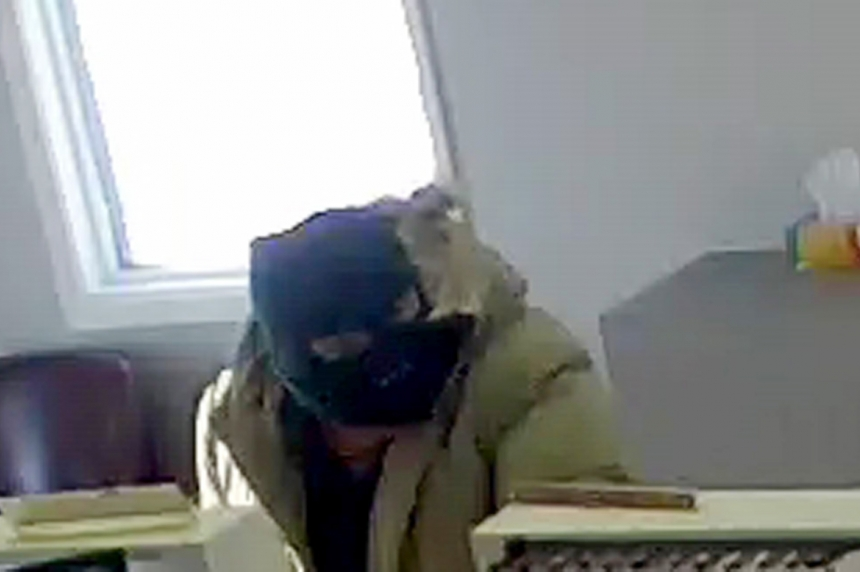 Suspect wanted in small town bank robbery near Weyburn