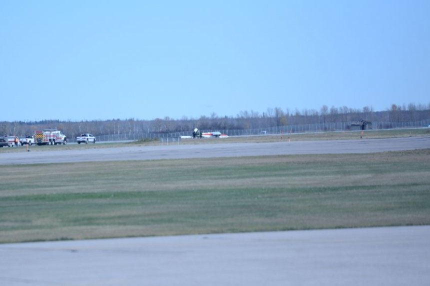 Prince Albert Airport at standstill after plane crash