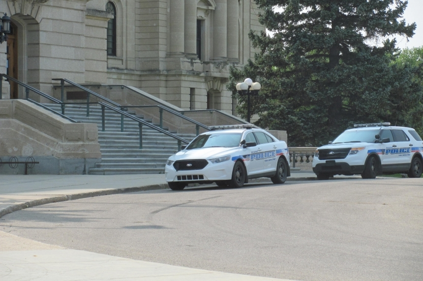 2 people arrested at Sask. legislative building after scuffle