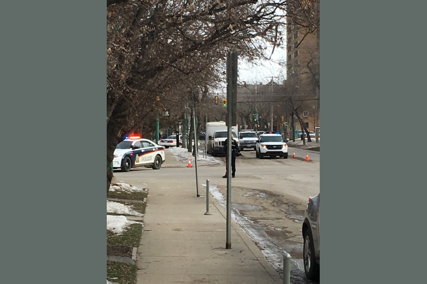 Bomb scare prompts downtown traffic shutdown