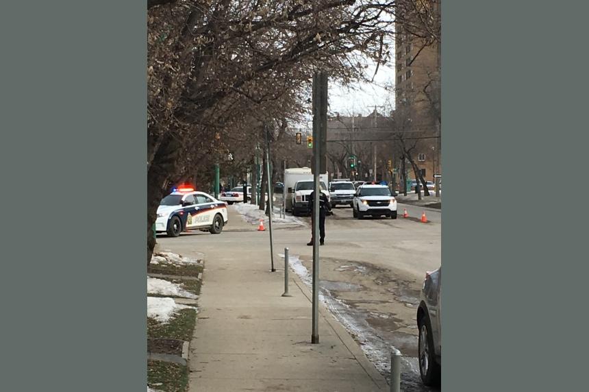 Bomb scare prompts downtown traffic shutdown