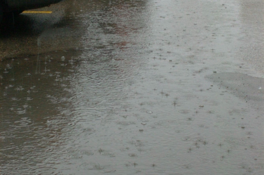 Rainfall warning for southern Saskatchewan