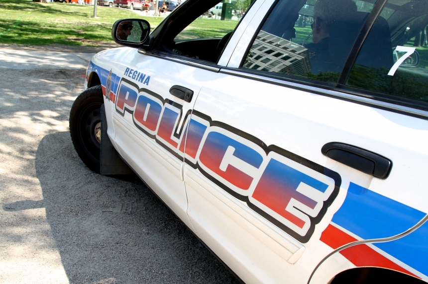 Man caught with stolen TV on stolen bike arrested again in Regina
