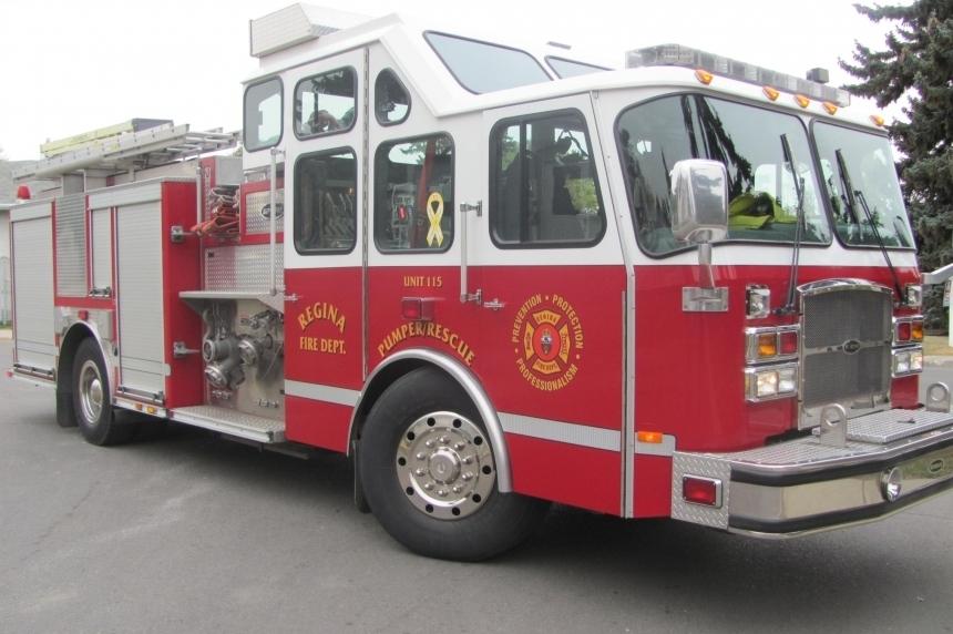 Train delays Regina fire crew
