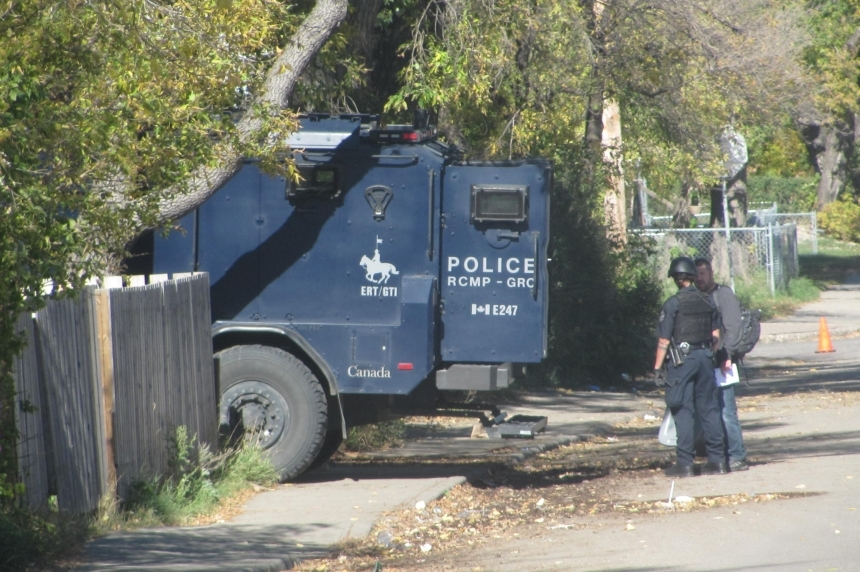 Four charged after SWAT team sent to Regina home
