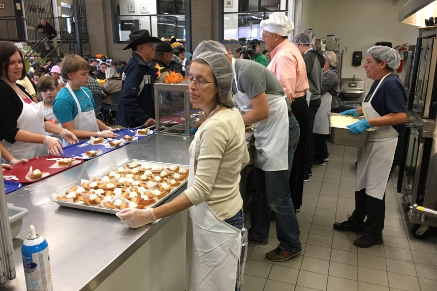 Easter meals for people in need in Saskatoon