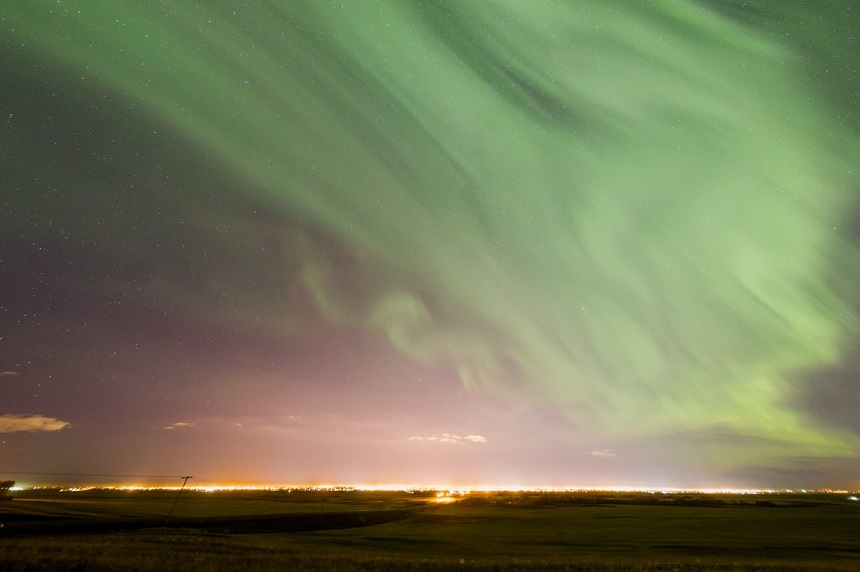 Northern Lights back in Saskatchewan