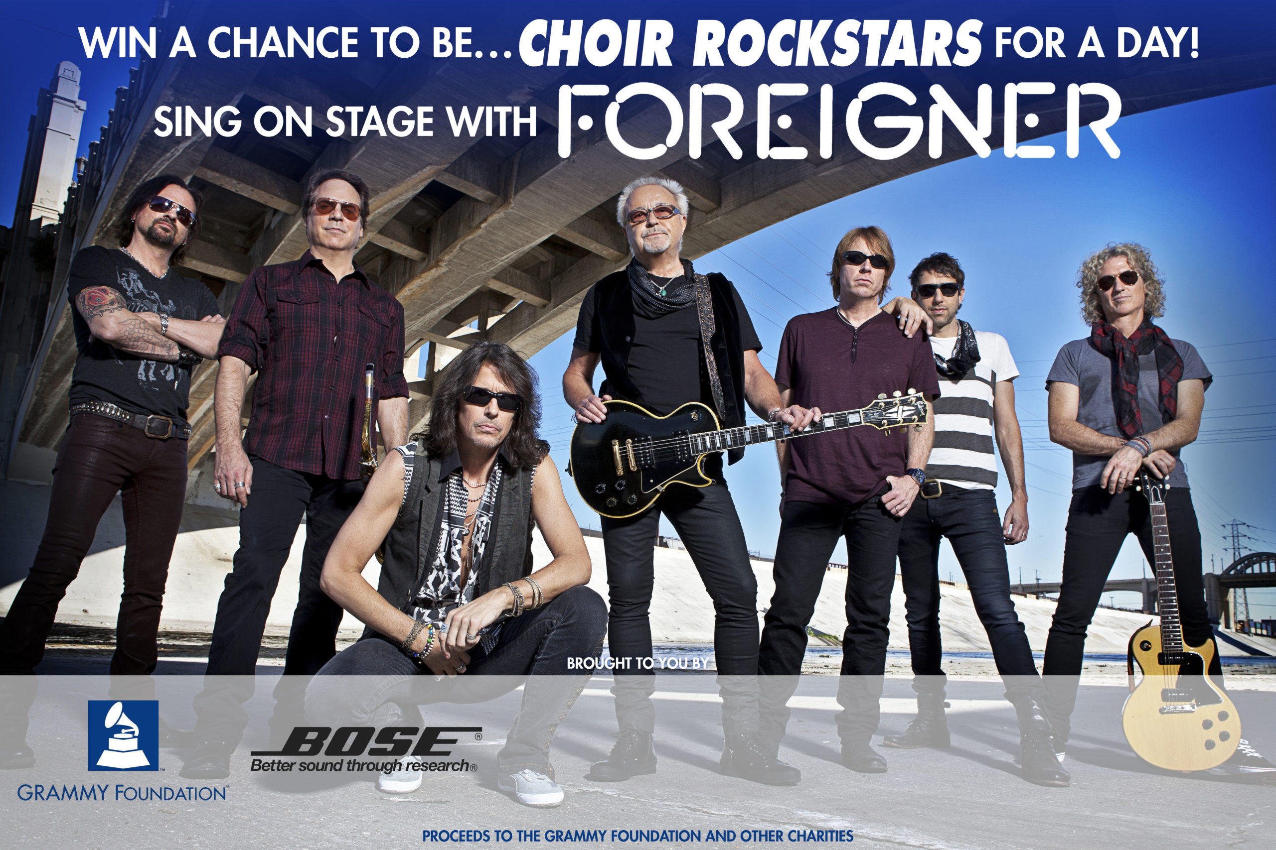 Foreigner Choir Rockstars