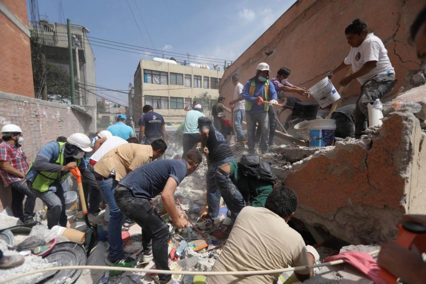 149 killed as 7.1 magnitude quake fells buildings in Mexico
