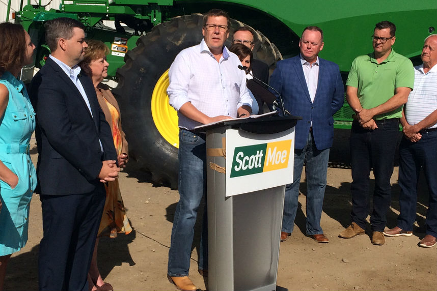 Strong caucus support for Moe in Sask. Party leadership race