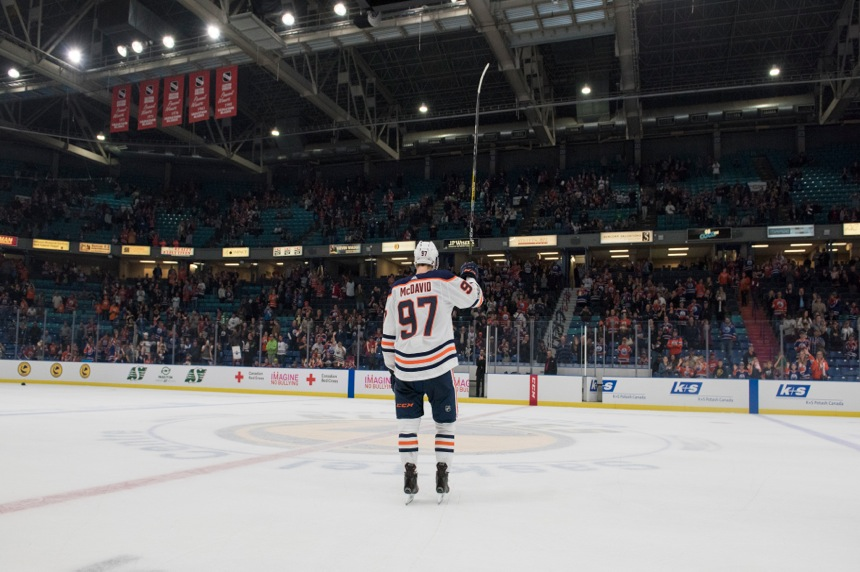 Connor McDavid is already back to scoring ridiculous goals