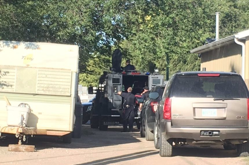 Wanted man arrested after Saskatoon standoff
