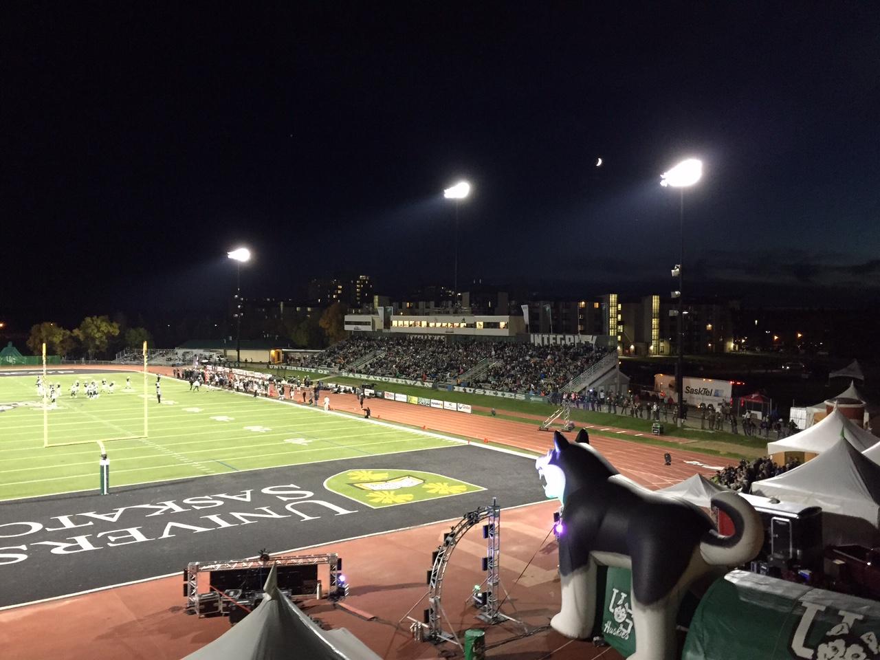 Huskie Football Game