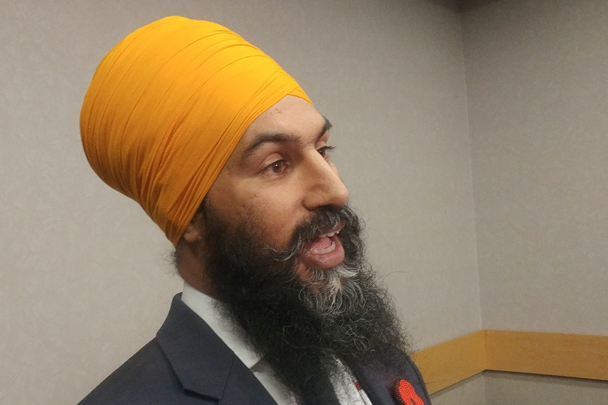 NDP leader Singh proposes federal funding to revive STC