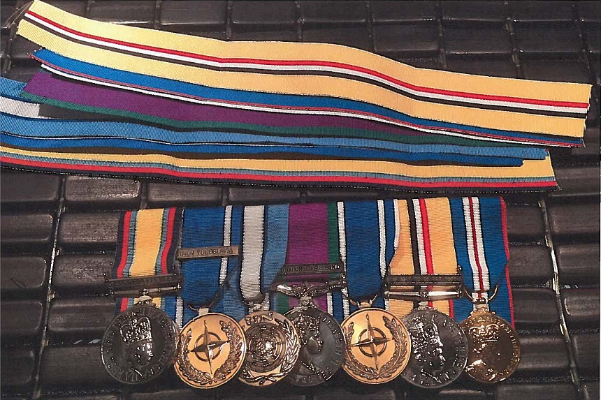 War medals stolen from Kindersley veteran
