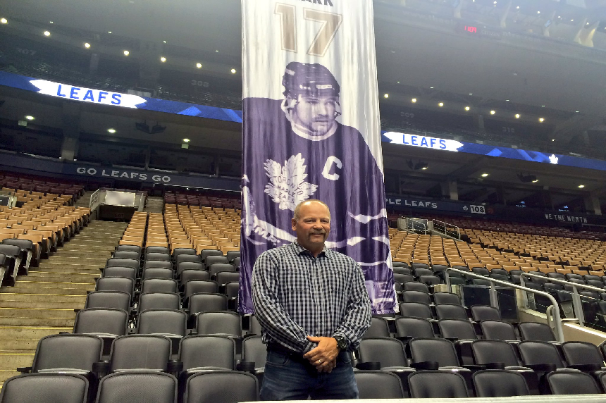 'To be honoured is huge:' Wendel Clark banner to hang in Sask.