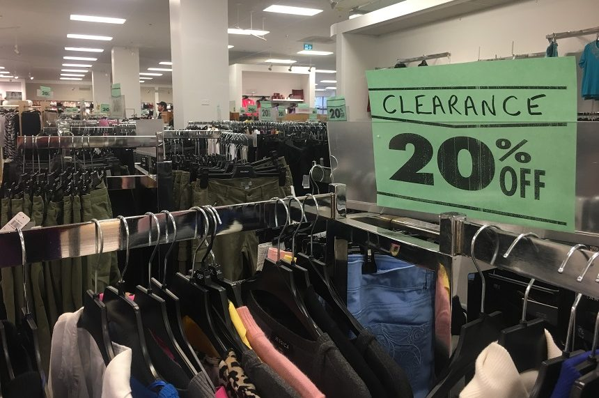 Sears liquidation sales disappoint customers in Saskatoon