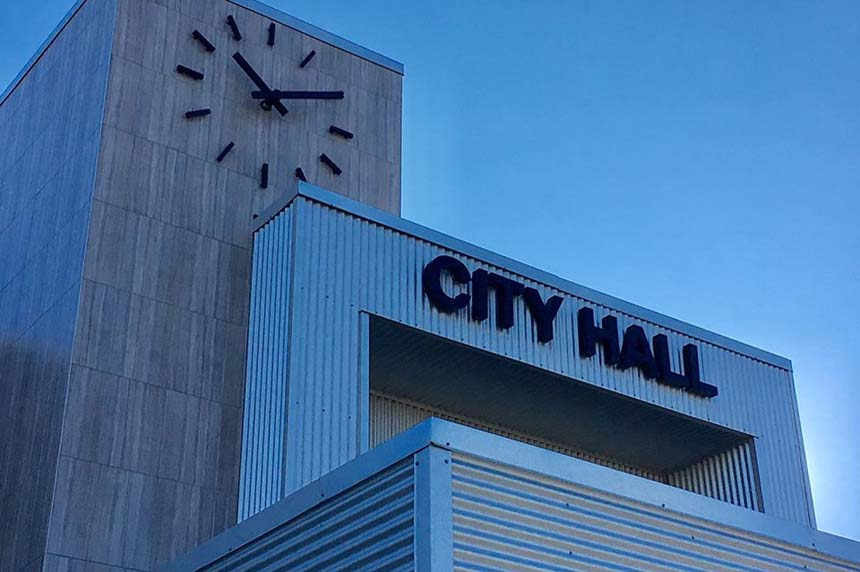 Burst pipe floods Martensville City Hall