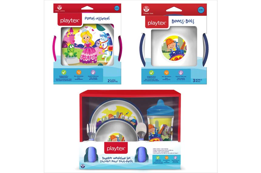 Playtex voluntarily recalls children's plates, bowls because of possible choking hazard
