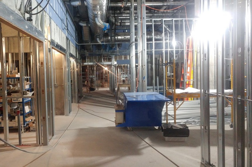 Rooms, floors shown as Sask. children's hospital progresses