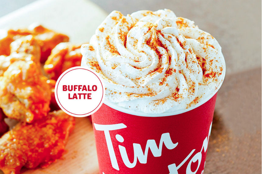 Pumpkin spice? How about a Buffalo sauce latte, asks Tim Hortons