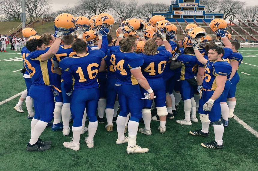 Hilltops blank Raiders, advance to Canadian Bowl