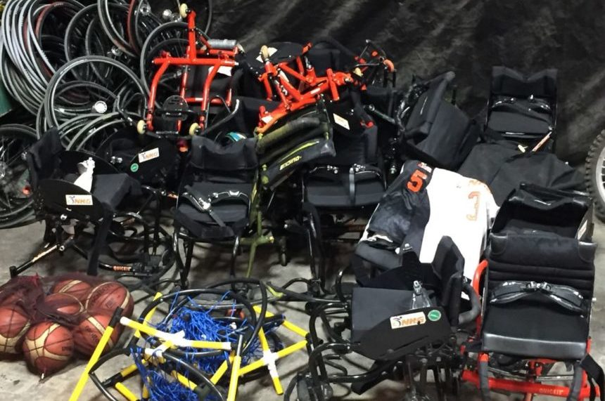 Saskatoon police recover 20 sports wheelchairs stolen in July