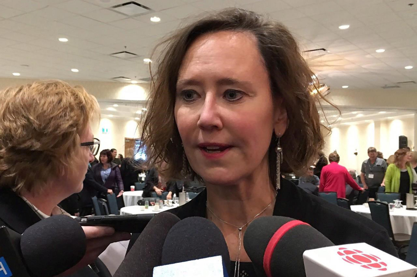 Saskatchewan premier stands by education minister; says she apologized