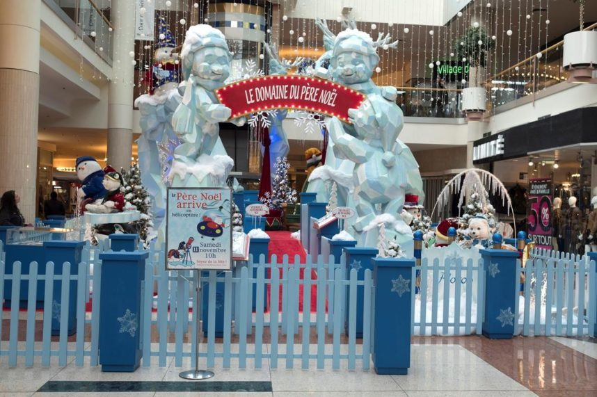 Quebec mall criticized for Santa visiting on Remembrance Day