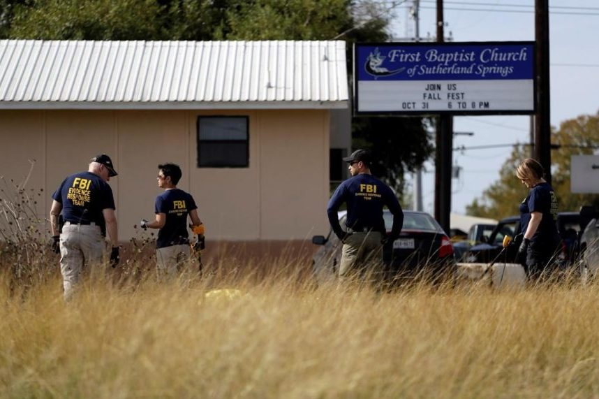Texas church gunman sent hostile text messages before attack