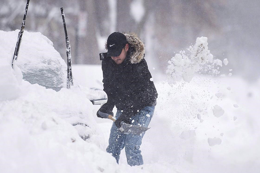 Canadians told to brace for a 'classic' Canadian winter with lots of snow