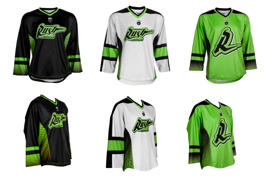 Saskatchewan Rush show off new jerseys for 2017-18 season