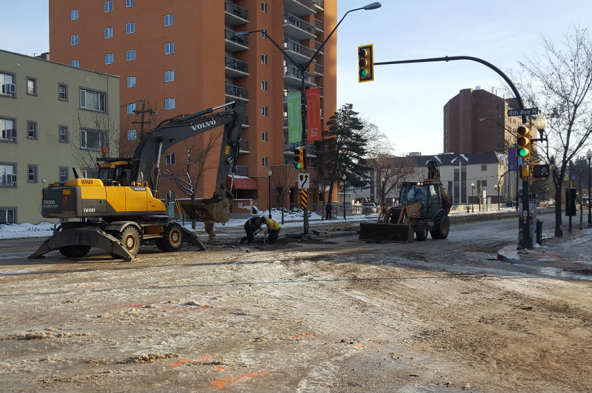 City of Saskatoon responds to multiple water main breaks