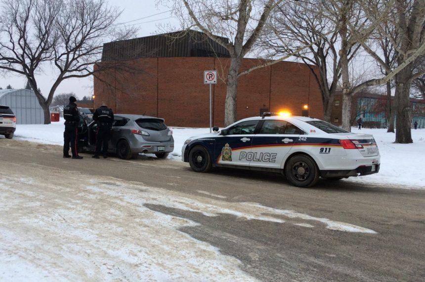 Pedestrian hit by car near Saskatoon school