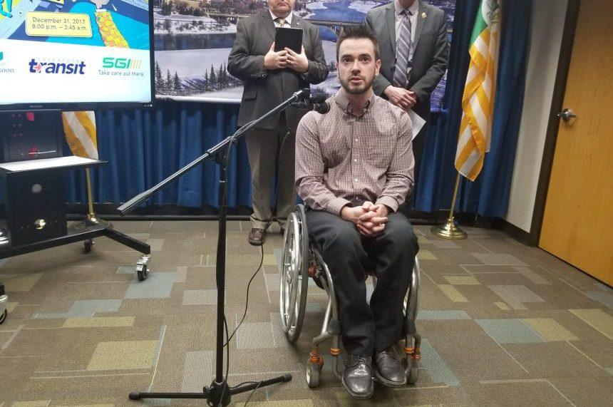 Crash survivor adds voice to city'santi-drunk driving message