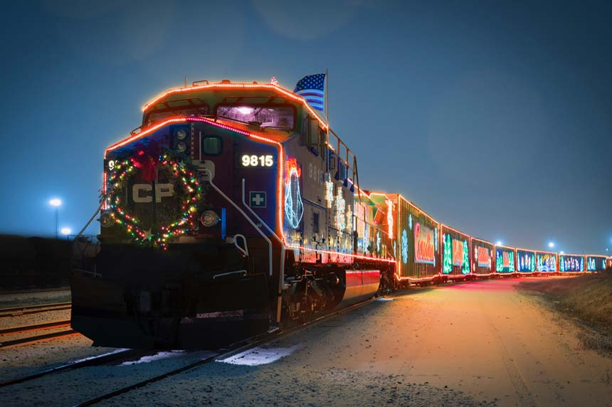 CP Holiday Train rolling into Saskatoon in support of food bank