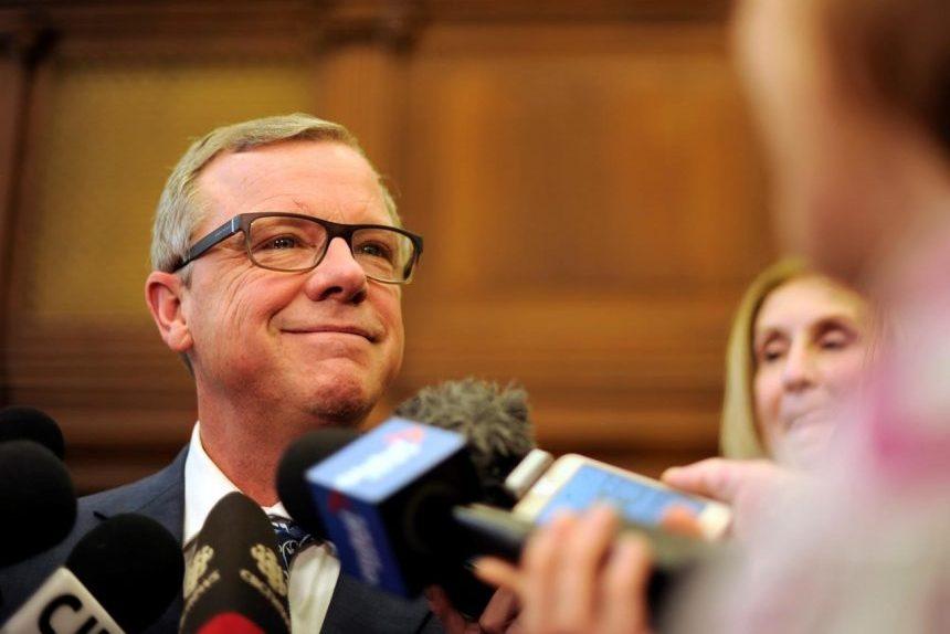 Tears, tributes as Saskatchewan Premier Brad Wall bids farewell to legislature
