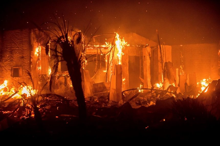 Flames engulf semi-rural San Diego area in newest wildfires